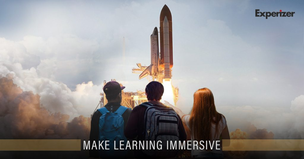 Make Learning Immersive Again